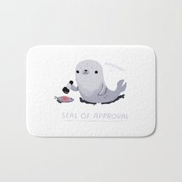 seal of approval Bath Mat