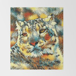 AnimalArt_Leopard_20170602_by_JAMColorsSpecial Throw Blanket