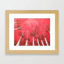 Garden of Bones Framed Art Print