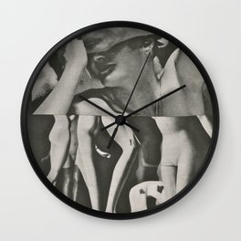 Mannequins At Midnight Wall Clock