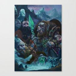 A fallen brother Canvas Print