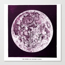 An Expired Planet Canvas Print