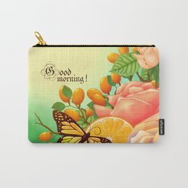 Full Bloom | Butterfly loves oranges Carry-All Pouch
