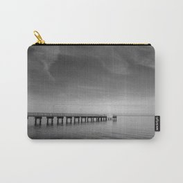 End of the Pier Landscape Photograph Carry-All Pouch