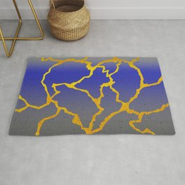 A Mended Heart Rug