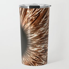 The Brown Iris Travel Mug