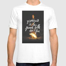 de la jeune fille en feu T-shirt