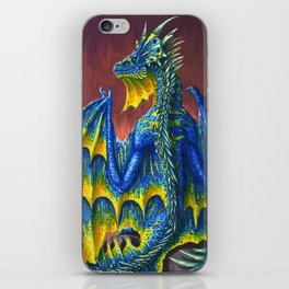 Horned Dragon iPhone Skin