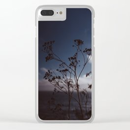 Big Sur Wild Flowers III Clear iPhone Case