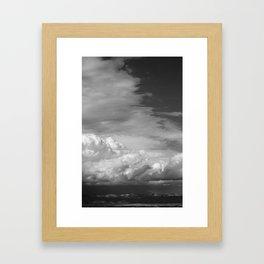 Bookcliffs b/w 2.0 Framed Art Print