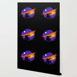 Sunset Samurai Wallpaper