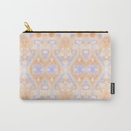 Ice Storm Peach Carry-All Pouch