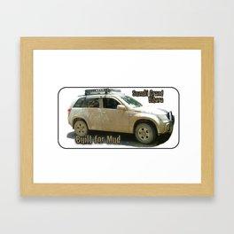 Suzuki Zook Mud Grand Vitara Framed Art Print