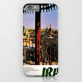 retro iconic Persia poster iPhone Case