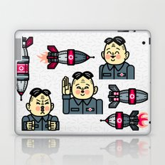 Kim Jong Un Rockets Laptop & iPad Skin
