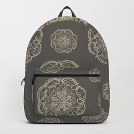 Gold Romantic Mandala Pattern #1 #decor #art #society6 Backpack