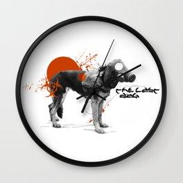 The last dog (on eart Wall Clock