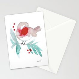 Red Robin 2 Stationery Cards