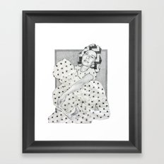 River to The Stars Framed Art Print