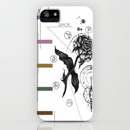 Floral Alchemy  iPhone Case