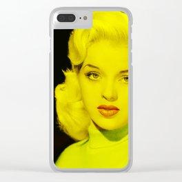 Diana Dors - Celebrity Clear iPhone Case
