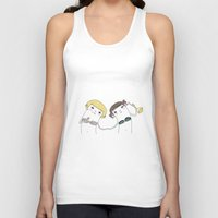 daisies Tank Tops featuring Daisies by Maureen Kuo