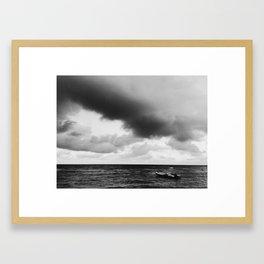 If I Had a Boat / Cap Haitian, Haiti Framed Art Print