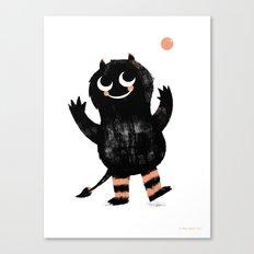 Fumble Canvas Print