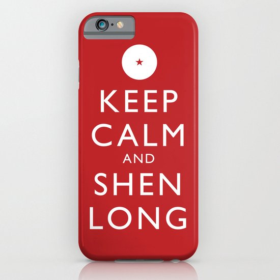 Keep Calm and Shen Long iPhone & iPod Case