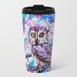 Little Owls version 3 Travel Mug