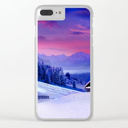 Winter Holidays|| Clear iPhone Case