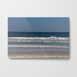 Ocean Oscillation Metal Print