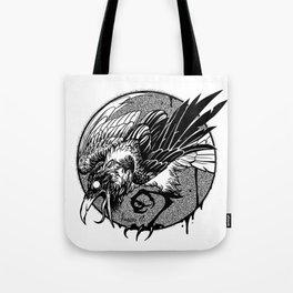 Noisy raven Tote Bag