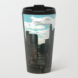 Chicago River View Metal Travel Mug