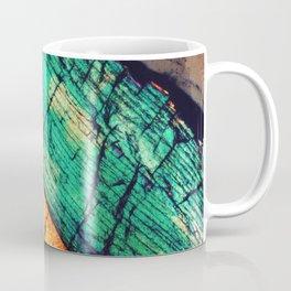 Epidote and Quartz Coffee Mug