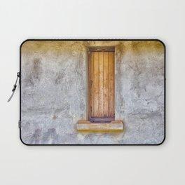 Old shuttered window Laptop Sleeve