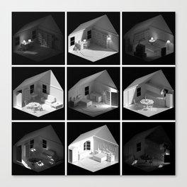 ourhouse.blend [Home remix] Canvas Print