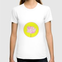 lotus flower T-shirts featuring Lotus by Cyrille Savelieff