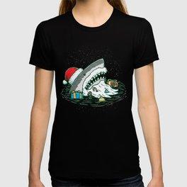 The Santa Shark T-shirt