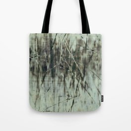 Emerald grass ~ Abstract Tote Bag