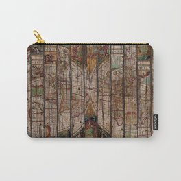 Encrypted Map Carry-All Pouch