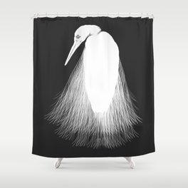 Flight Initiation Distance Shower Curtain