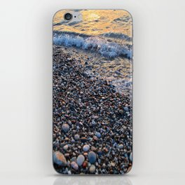 Waves and Stones iPhone Skin