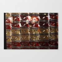 converse Canvas Prints featuring converse  by RAIKO IVAN雷虎