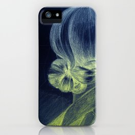 Looking Back iPhone Case