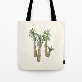madagascar palm Tote Bag