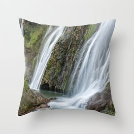 Marmore waterfall, Umbria, Italy Throw Pillow
