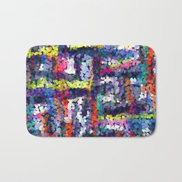 Abstract pattern 127 Bath Mat