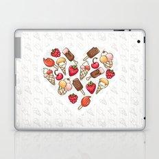 In love with icecream Laptop & iPad Skin