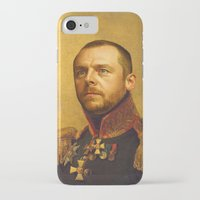 replaceface iPhone & iPod Cases featuring Simon Pegg - replaceface by replaceface